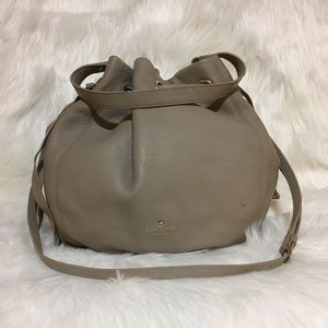 Kate Spade Pebbled Leather Crossbody Bucket Bag